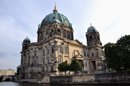Berlin Cathedral, German: Berliner Dom is the colloquial name for the Evangelical Oberpfarr- und Domkirche (English analogously: Supreme Parish and Collegiate Church, literally Supreme Parish and Cathedral Church) in Berlin, Germany.