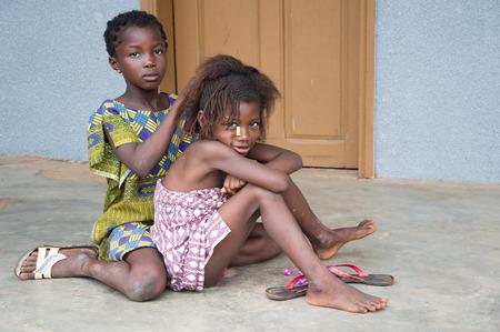Afrikanische Kinder Editorial