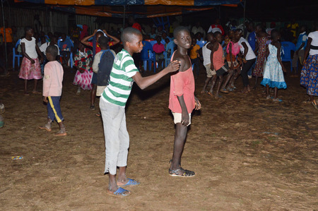 danced: rejoicing in the village