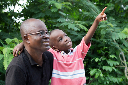 The child in turn shows his father what he had to show him.