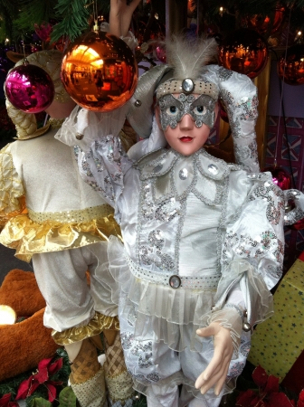 doll: Christmas doll