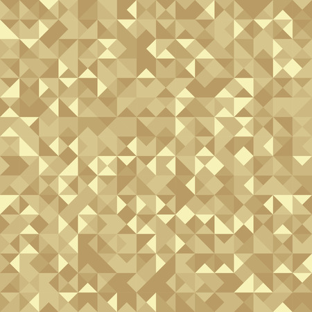 Seamless Abstract pattern: monochrome Gold background with Holographic effect.