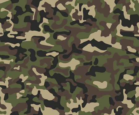 Abstract military or hunting camouflage pattern Çizim