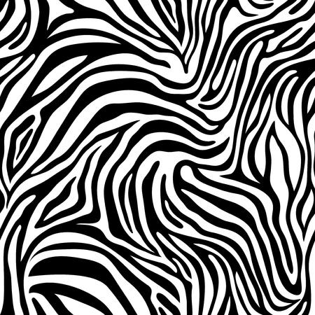 Wzór skóry zebry. Ilustracje wektorowe
