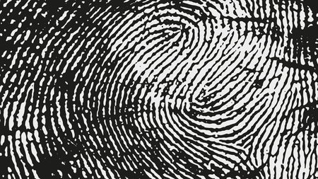 Fingerprint pattern.
