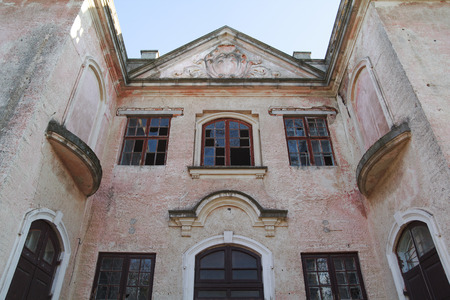 french renaissance: castle, palace built in french renaissance style in Uman, Ukraine, in 1893-1903