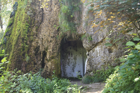 seclusion: hidden christian oratory in a cave