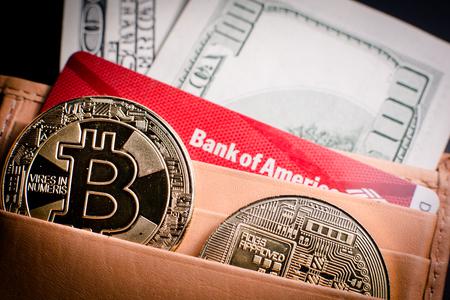 Bitcoin and Ethereum. Virtual electronic digital money