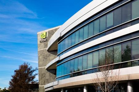 Santa Clara, CA - Feb. 1, 2018: NVIDIA Corp., leader of Artificial Intelligence, GPU, GeForce, 3D Gaming, 3D Vision.