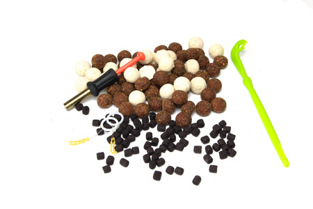 fishing rig: Fishing carp, carp fishing, bait for carp, fish bait, fishing tools and accessories for fishing.