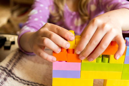 The child builds their dream home of the designer.
