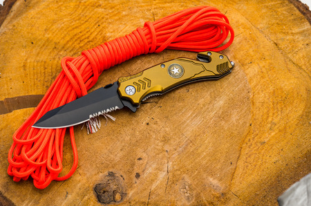 Knife for everyday carrying. Knife with tools for survival.