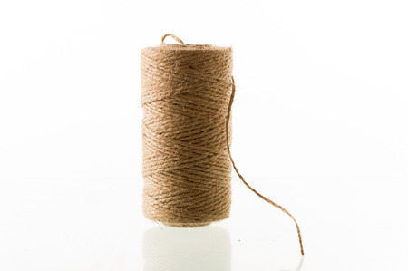 Skein thread. Post thread. Craft thread yarn.