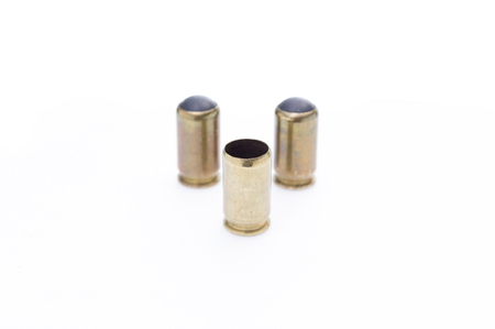 Brass sleeves. Ammunition for weapons. Stock ammo for weapons. Isolate