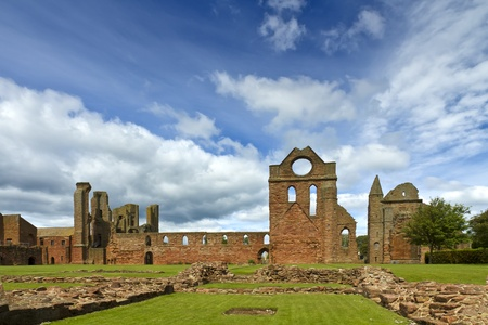 robert bruce: Arbroath Abbey Sky Stock Photo