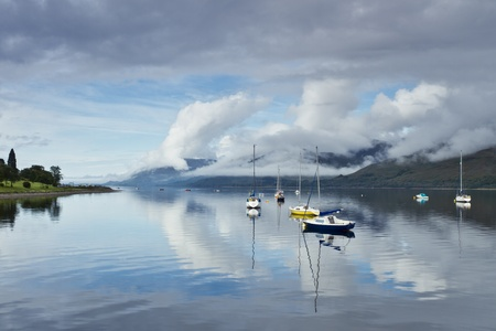 scottish: Loch Linnhe Morning Mist