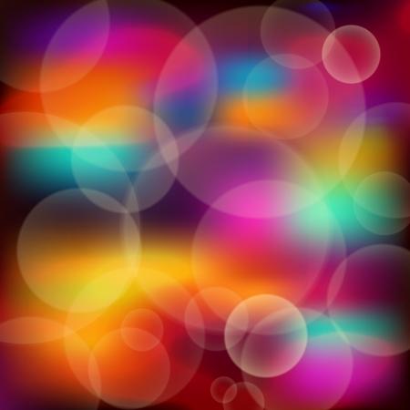Bright lights bokeh  Vector illustration Stock Vector - 16989531