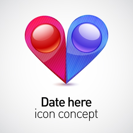 Date icon concept Stock Vector - 17624095