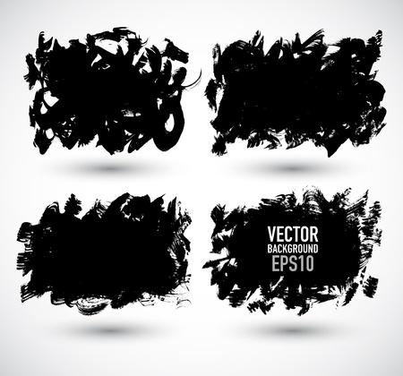 Set grunge Banner  Stock Vector - 18079286
