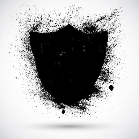 Grunge shield