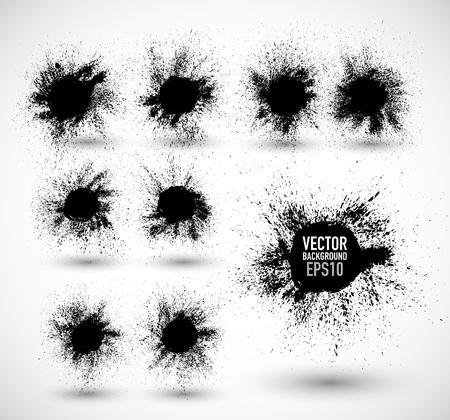Fondo abstracto del grunge Ilustración de vector