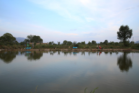 liu: Gansu Yongjing County Liujiaxia reservoir pond artificial lake