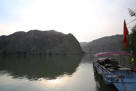 reservoir: Gansu Yongjing County China Liujiaxia Reservoir