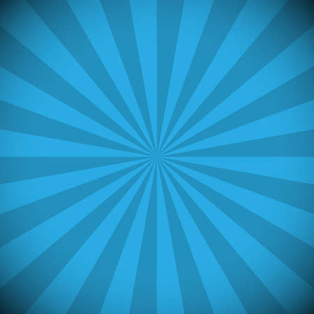 Striped abstract blue background. Vector illustration