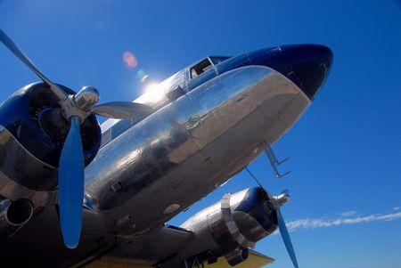 Vintage airliner Banco de Imagens - 883985