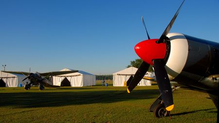 staging: Airshow staging area