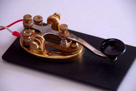 telegraaf: Brass Radio Telegraph Key