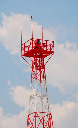 airport beacon tower Stock Photo - 926455