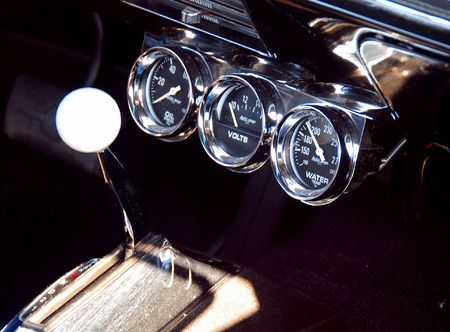 shifter: Auto gauge cluster and shifter