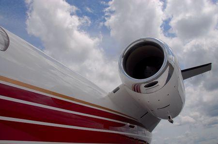 Executive jet aircraft,