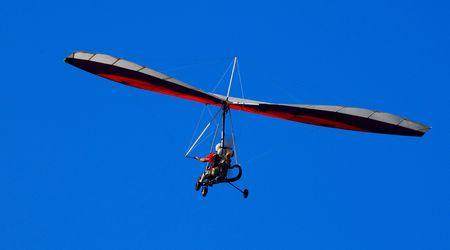 airplane ultralight: ultralight aircraft inflight