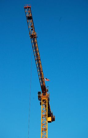 bouw kraan Stockfoto