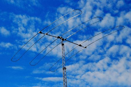 large directional ham radio antenna Stock Photo - 4970399
