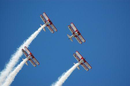formation flight, Lakeland, FL airshow, April, 23, 2009