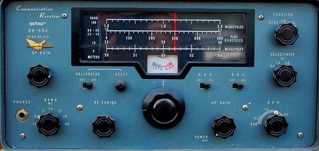 flee: vintage shortwave radio, electronics flee market, Richmond, VA. July 17, 2010