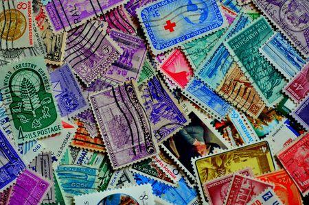 postage: United States postage stamps
