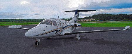 turbofan: imagen posterizado un nuevo avi�n de iight muy