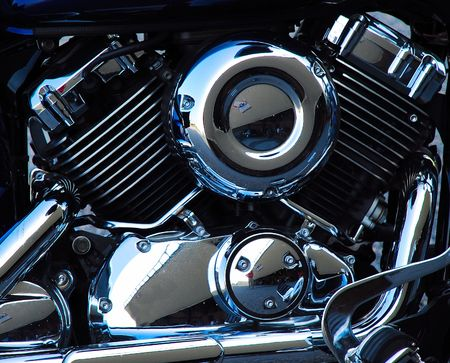 twin engine: v-twin motorcycle engine