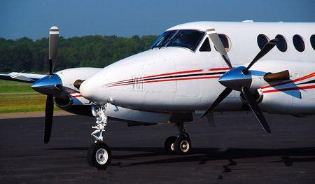 turboprop: turboprop airplane