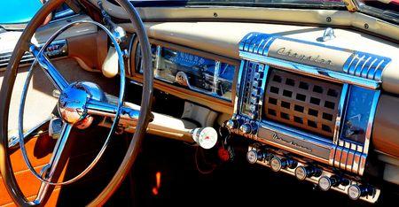 Richond, VA, Vintage Auto Show, interior, September 4, 2010