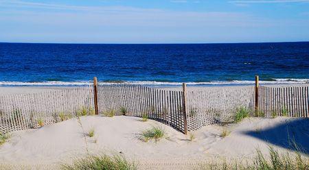 beach scene 免版税图像