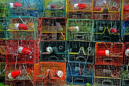crab cages