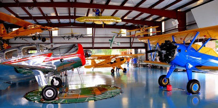 Triple Tree Aerodrome Flyin, September 2012, Woodruff, SC.