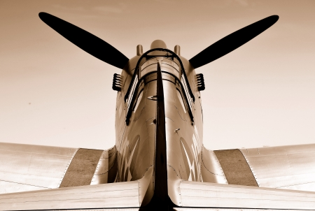 vintage military aircraft