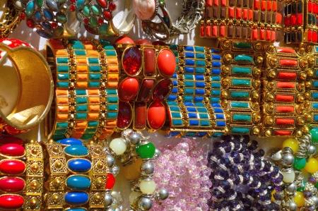 braclets: costume jewelry Stock Photo