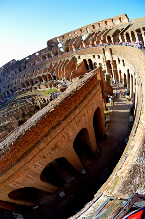 Rome, Italy, Colosseum, October 2012